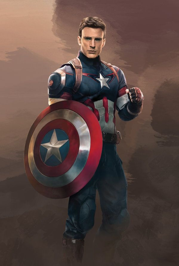 Avengers Age Of Ultron By Iloegbunam On Deviantart: Captain America In Age Of Ultron By Denkata5698 On