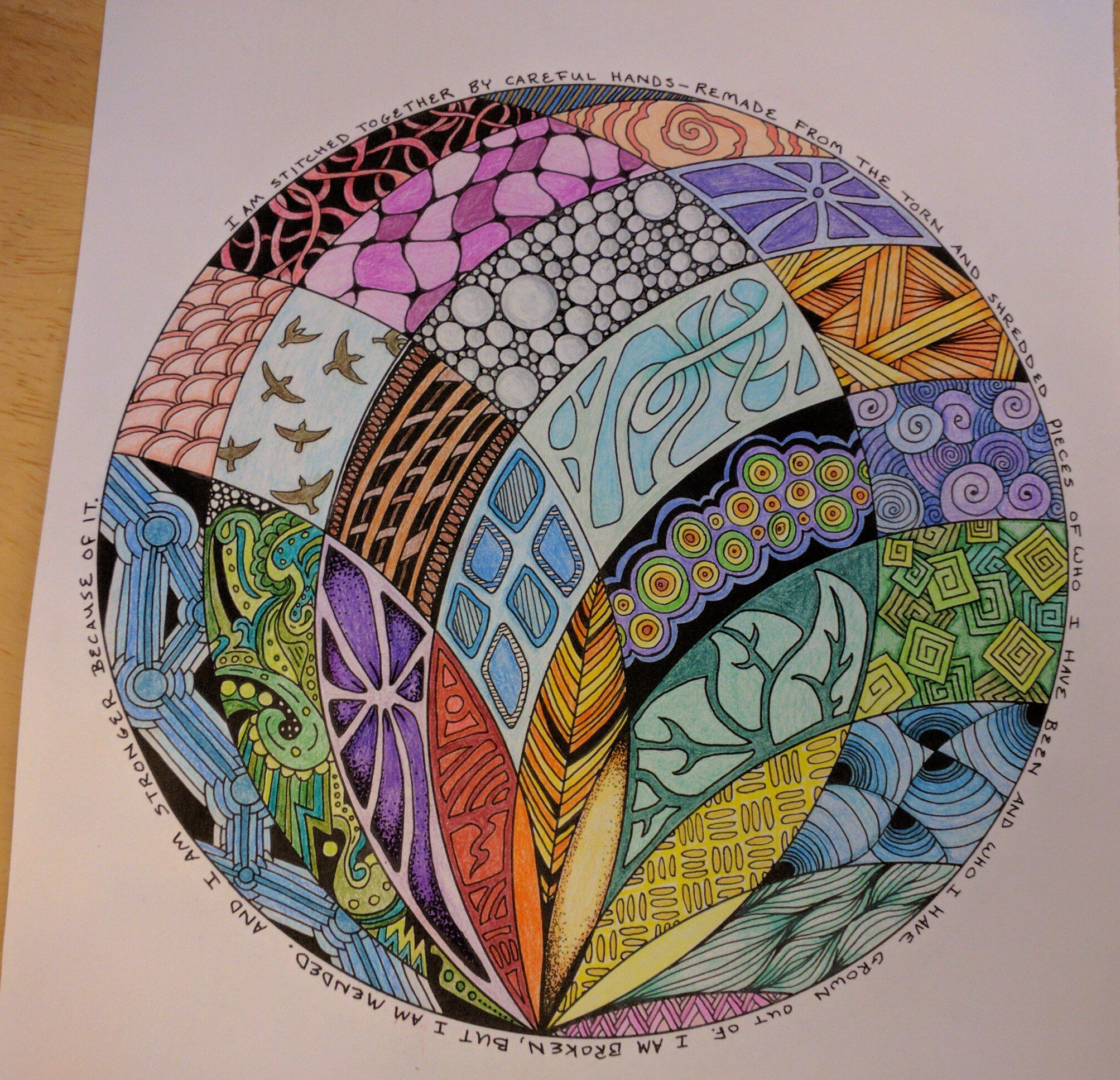 Zendoodle coloring enchanting gardens - The Bloggess Asked People To Share Images From Ner Coloring Book You Are Here