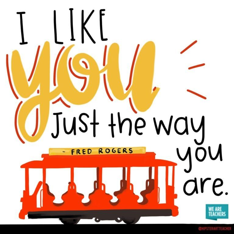 Weareteachers Ideas Inspiration And Giveaways For Teachers Weareteachers Mr Rogers Quote Mr Rogers Quotes For Kids
