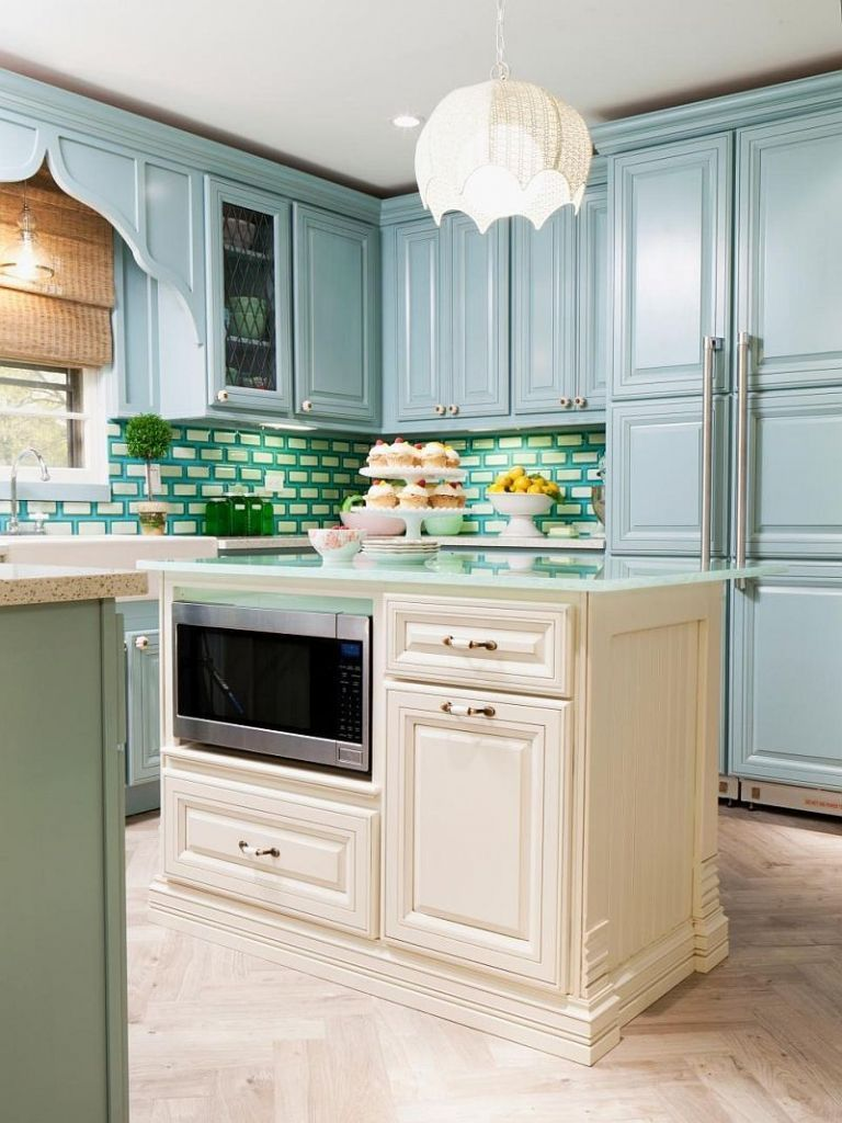 Pale Blue Kitchen Designs Inspiration From Pale Blue Kitchen Cabinets Powder With