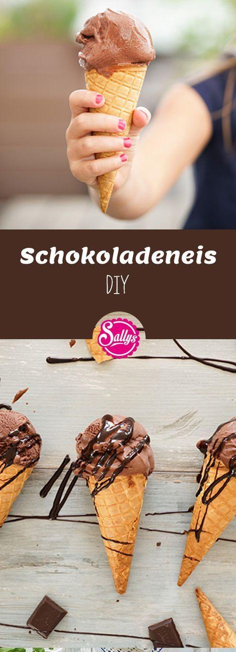 Schokoladeneis DIY / sehr schokoladig & cremig