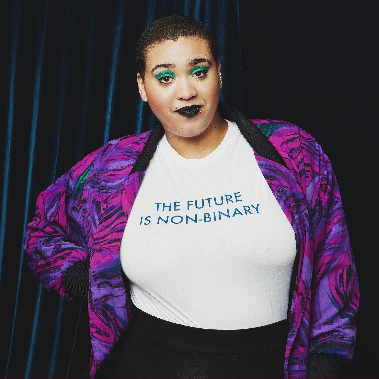 Unisex T-Shirt LGBTQ Shirt Non Binary Gender is a Social Construct Androgynous Shirt Queer Gender Fluid
