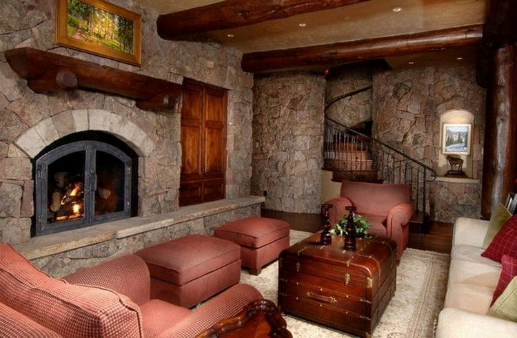 Cozy Up In Front of these Rustic Fireplaces (26 Photos ... on Front Range Outdoor Living id=17991