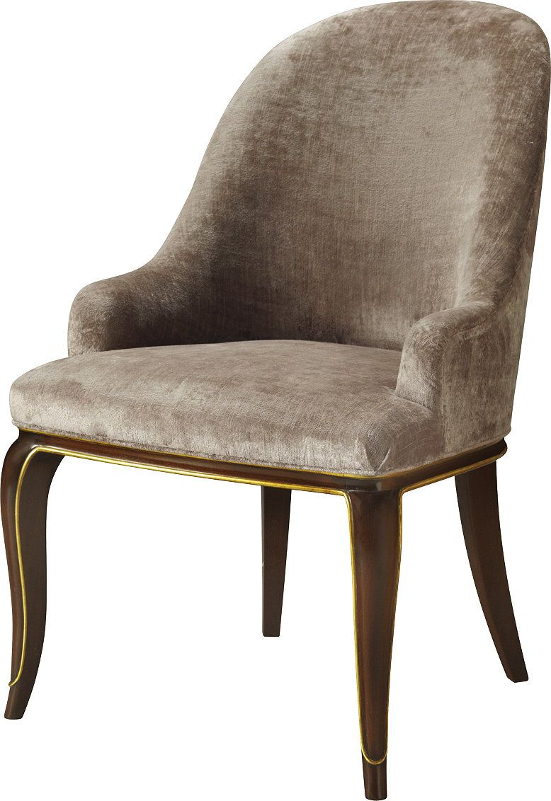 Curved Back Dining Room Chairs Captivating A Lyrical Line In An Upholstered Form The Doyenne Dining Chair Is Inspiration Design