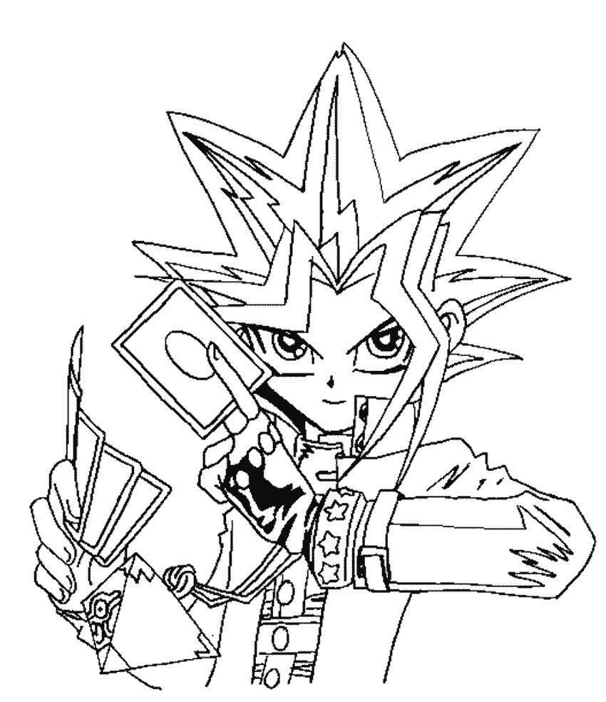 42 Coloring Page Yu Gi Oh In 2020 Cartoon Coloring Pages Coloring Pages Cool Coloring Pages
