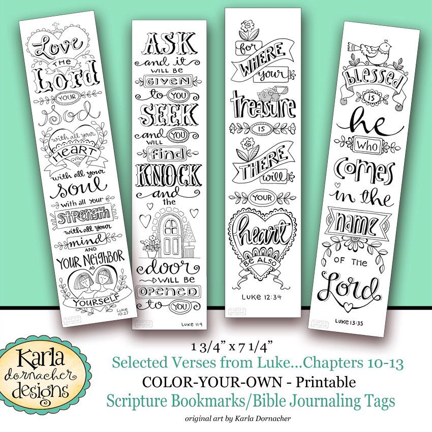 Scripture Printable Instant Digital Download By T