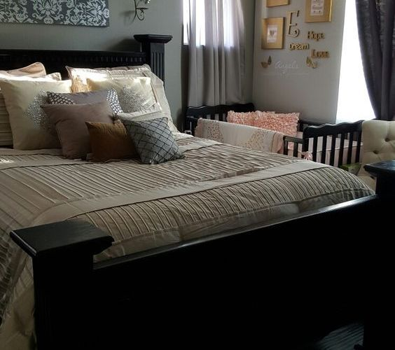 12 Great Decor Ideas For Co Sleeping Room Sharing Shared Baby