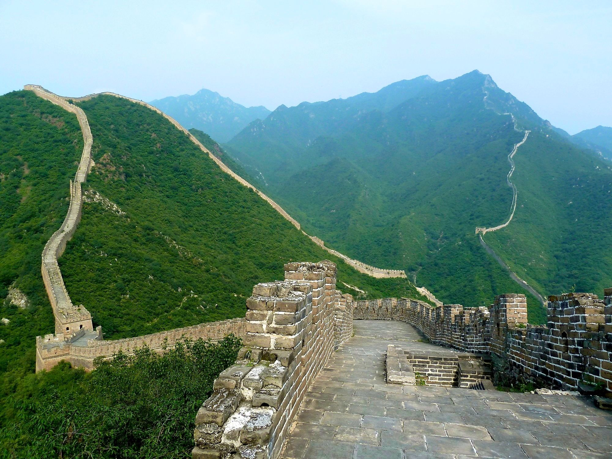 great wall of china the great wall of china on great wall of china huanghuacheng id=22170