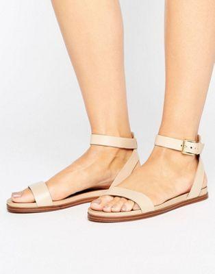 c40b04a67326 ALDO - Gwenna - Sandali piatti con listini Low Heel Sandals