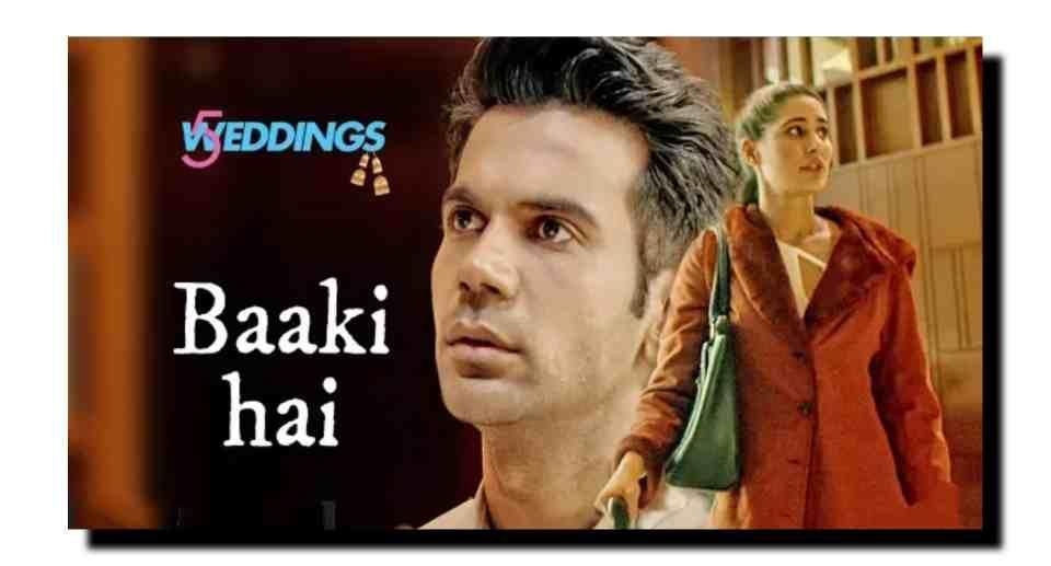 Baaki Hai Guitar Chords 5 Weddings Sonu Nigam Shreya Ghoshal
