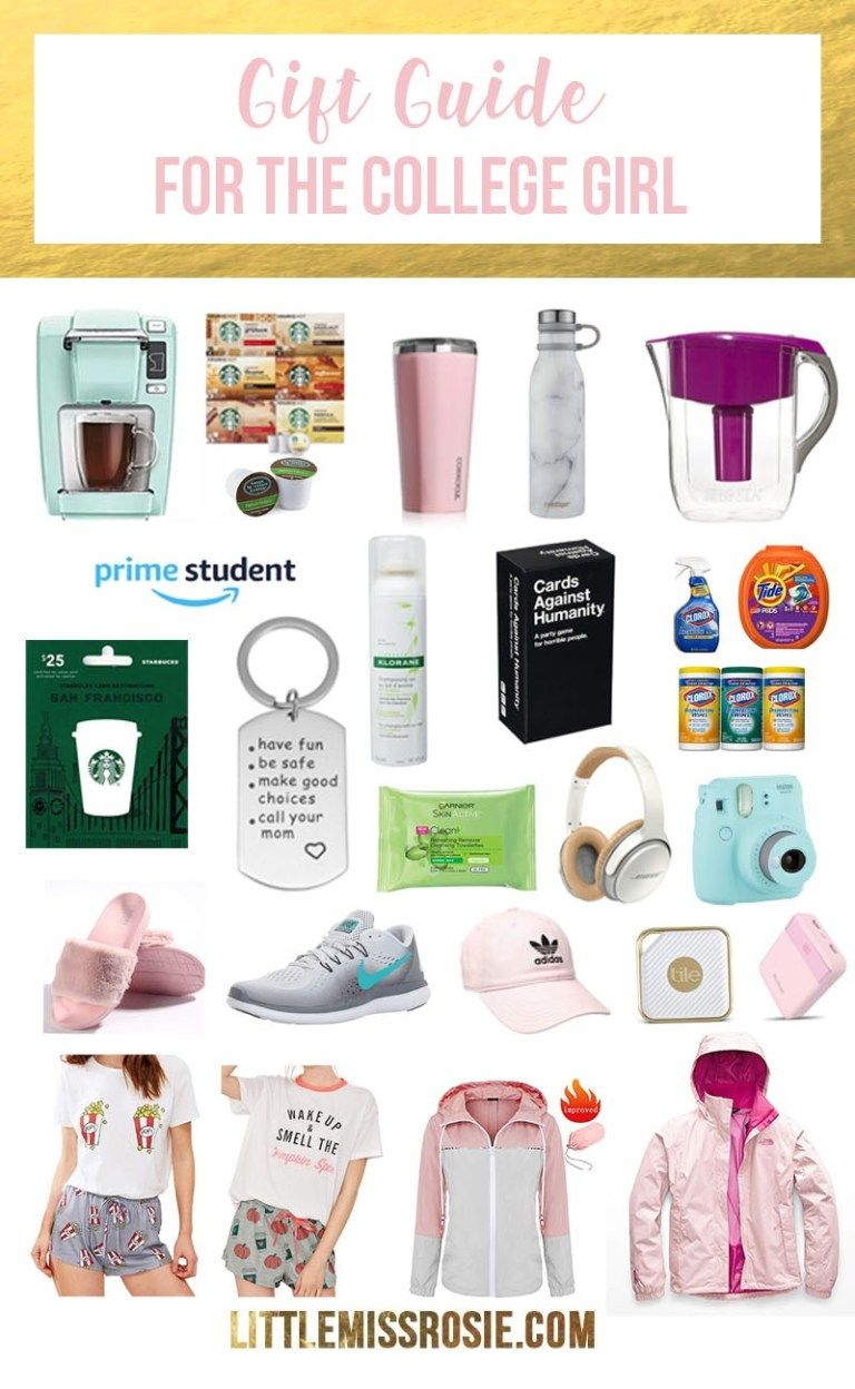 College Girl Gift Ideas What To Buy For A Student Little Miss Rosie College Girl Gifts College Student Gifts Christmas College Girl Christmas Gifts