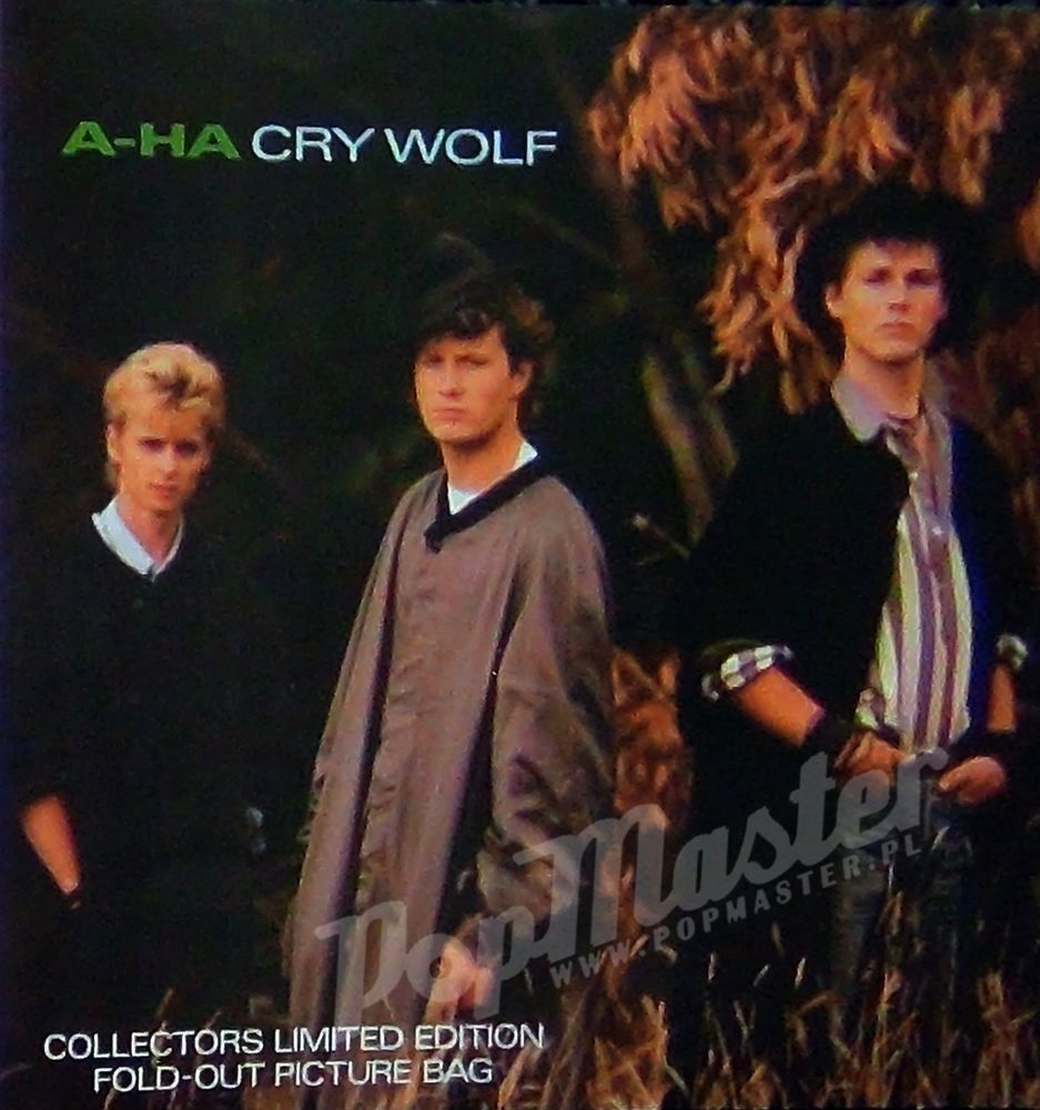 A Ha Cry For Wolf Collectors Limited Edition Foldout Picture Bag