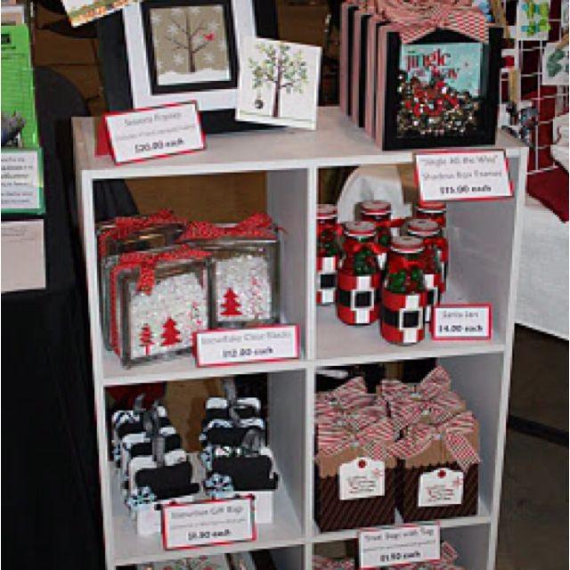 Christmas Bazaar Craft Ideas Part - 45: Stuck On Stampinu0027: Craft Bazaar Round-Up Ideas Galore. Another Idea Elaine  Olds