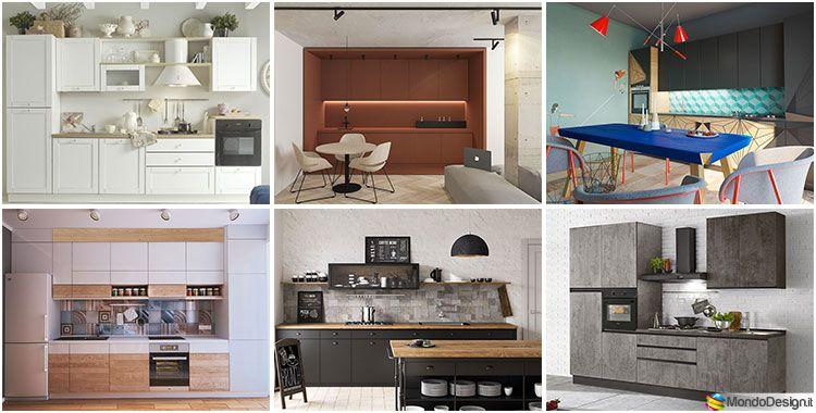 Cucine di 3 Metri Lineari in Diversi Stili   Cucine   Cucine, Divano ...