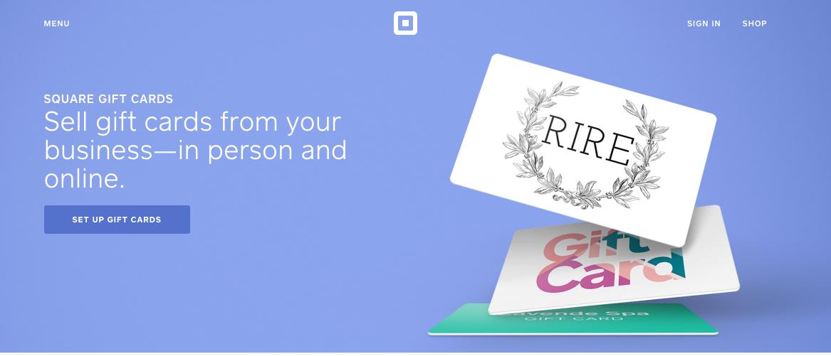 business gift cards custom gift cards egift cards square - Custom Gift Cards For Business