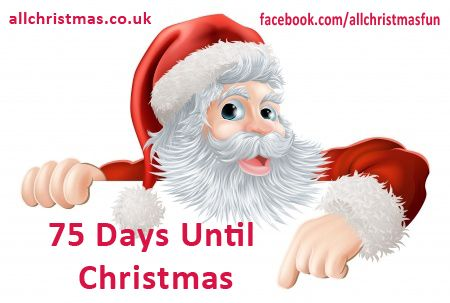Days Till Christmas Uk.Sorry Not Sorry Cant Wait 75 More Sleeps I Am 25 Honest