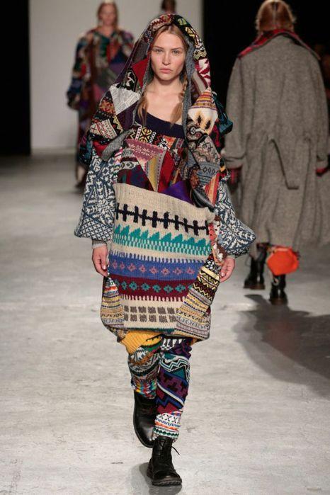 CТИЛЬ БОХО   Женская мода   Knit fashion, Knitwear fashion ...