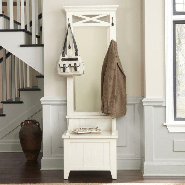 Muebles de entrada: ideas que invitan a remodelar   Muebles blancos ...