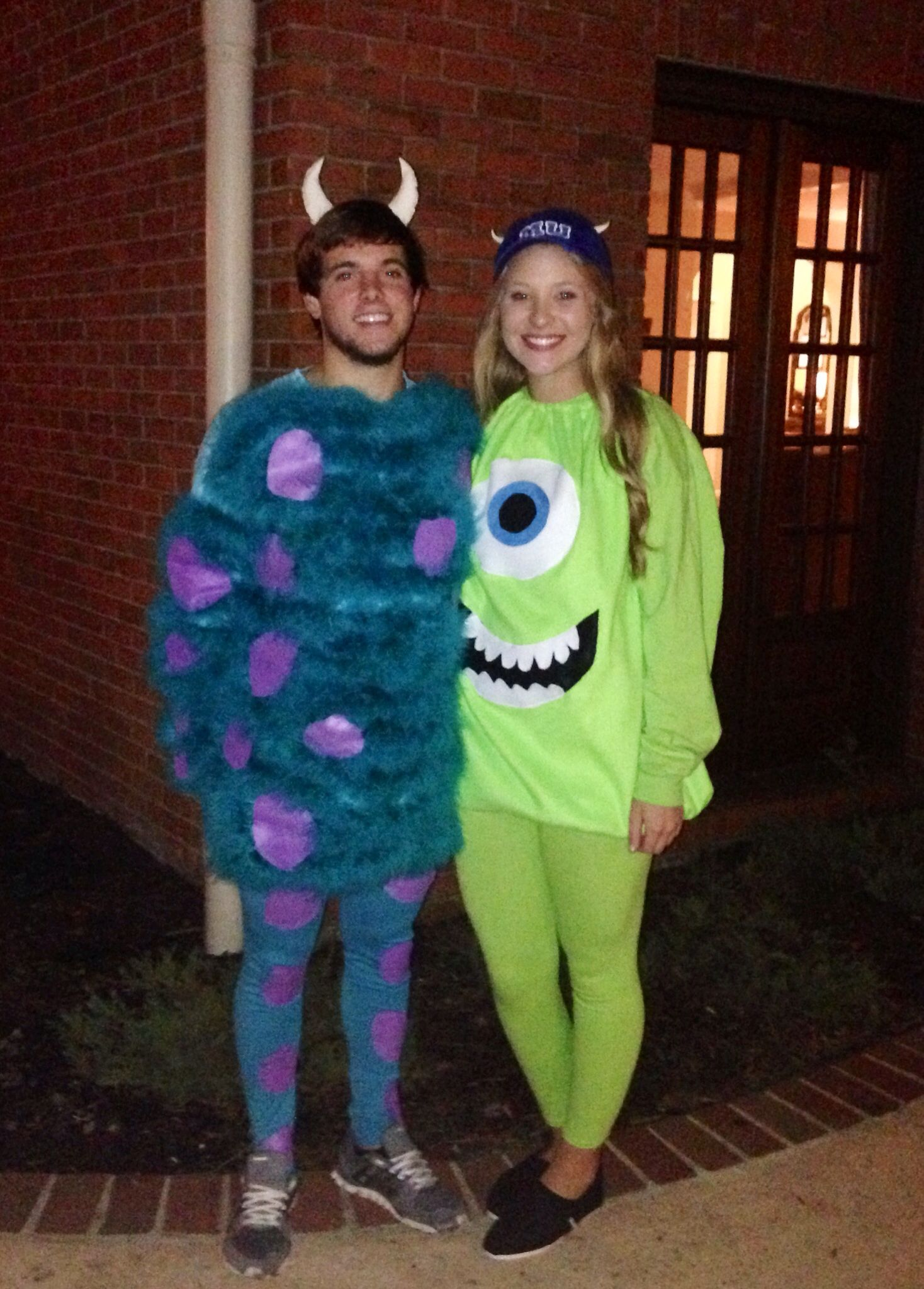 Mike And Sully Diy Halloween Costumes Crafty