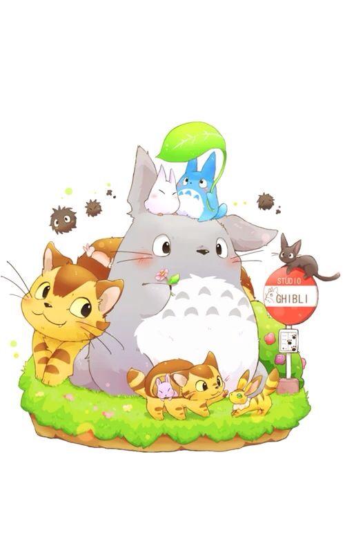 Cute Totoro Island トトロ ジブリ スタジオジブリ