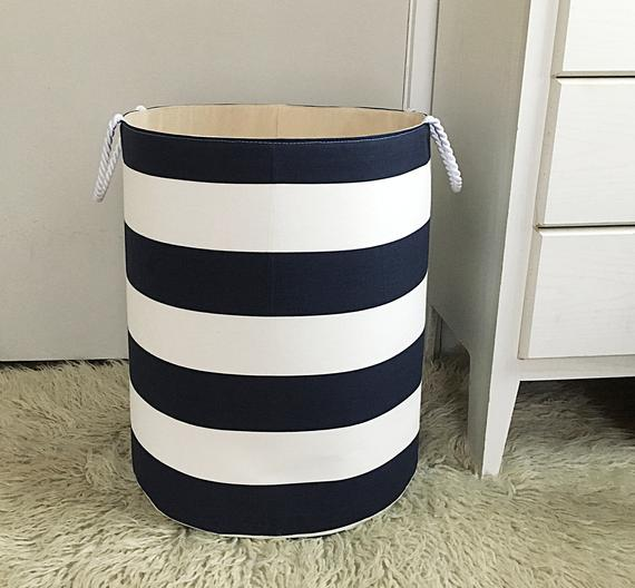 Xl Fabric Storage Laundry Hamper Canvas Basket Premier Prints