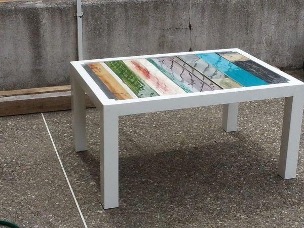 Table basse palette design par Mirepoix designs
