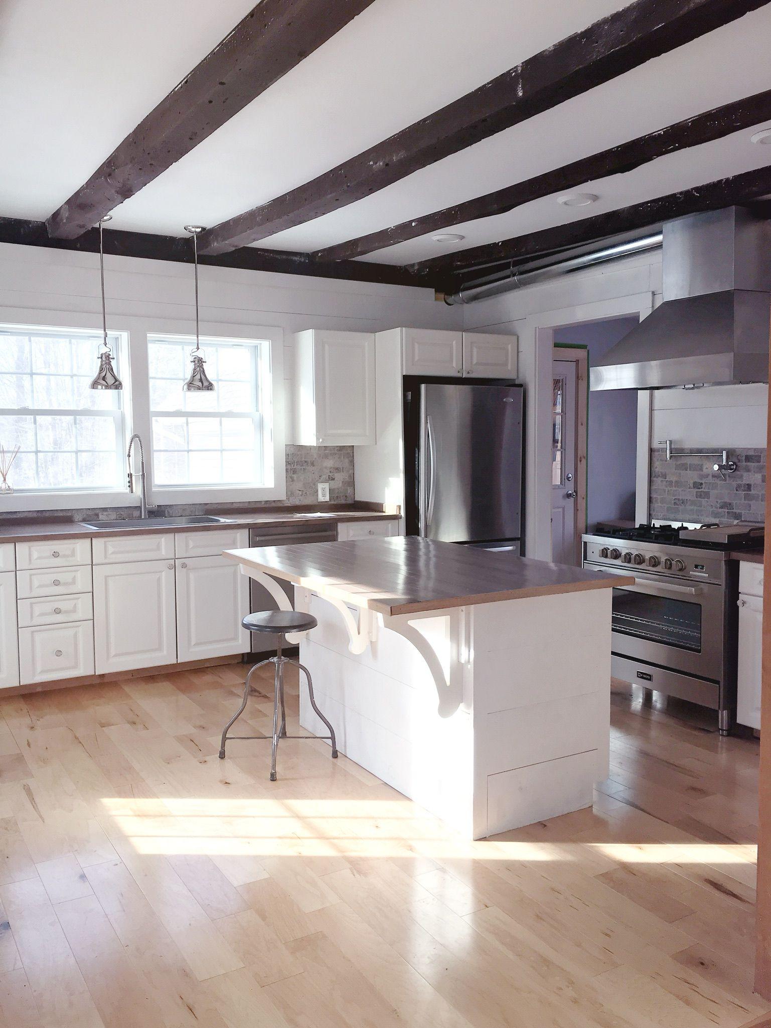 Our 1900's Farmhouse Kitchen Renovation | Kitchen ...