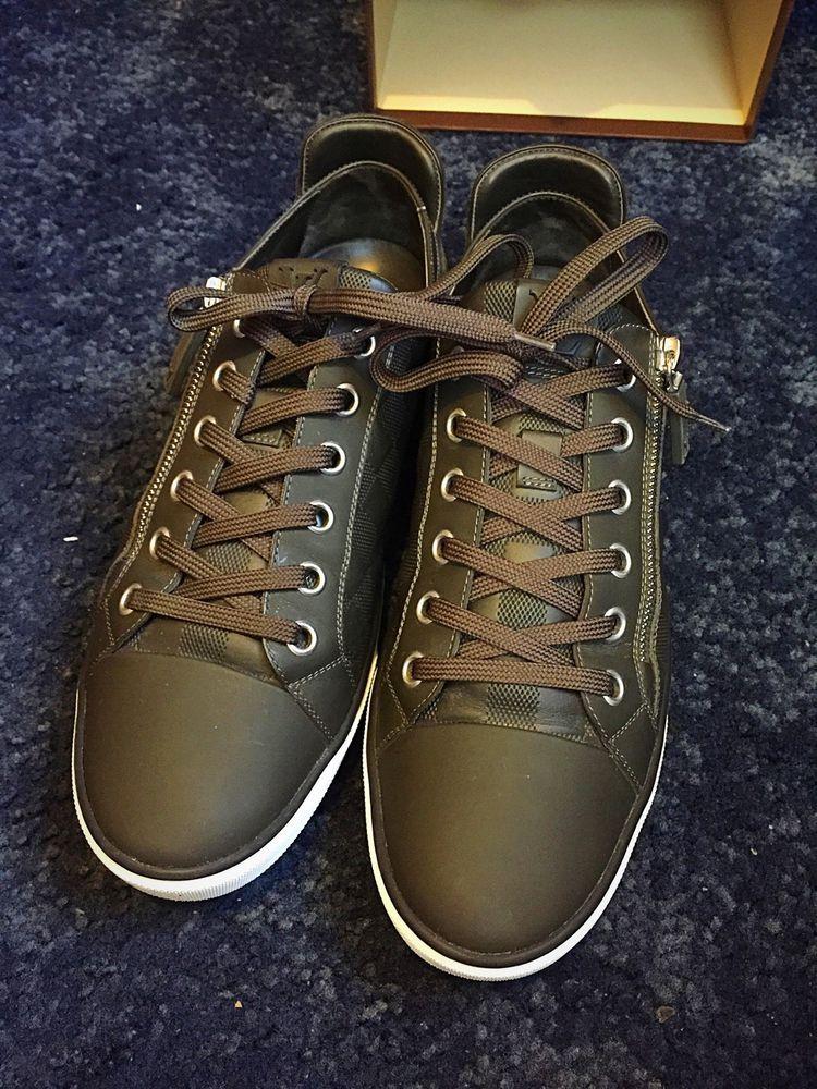 1f16f5cfa17 Louis Vuitton Zip Up Sneaker in Damier Sz 8 | Kickterest | Louis ...