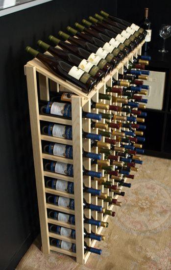100 Bottle Display Top In Ponderosa Pine Wine Cellar Design Home Wine Cellars Wine Bottle Display