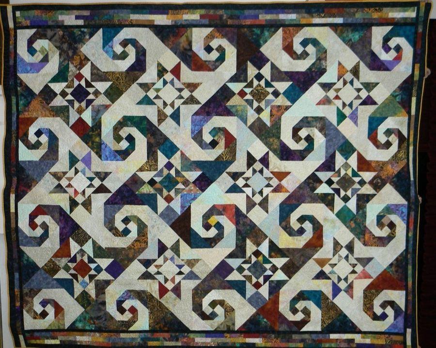 Snails Trail Quilt Quilts Pinterest Snail, Patchwork and Patterns