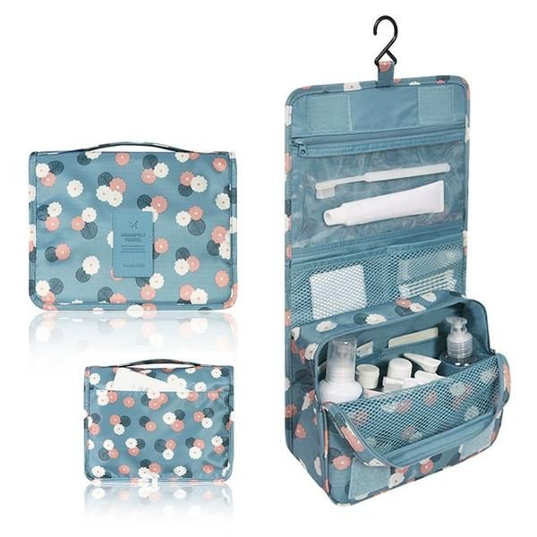 Hanging Toiletry Kit Travel Storage Bag (3 Colors available)