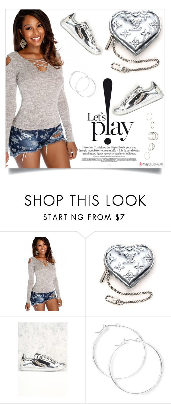 """AMICLUBWEAR 18/X"" by amra-mak ❤ liked on Polyvore featuring Louis Vuitton, claire's and amiclubwear"