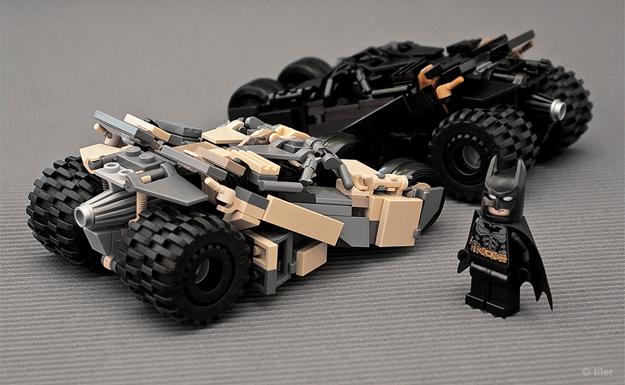 Probably The Coolest Smallest Batman Lego Tumbler Replica Ever