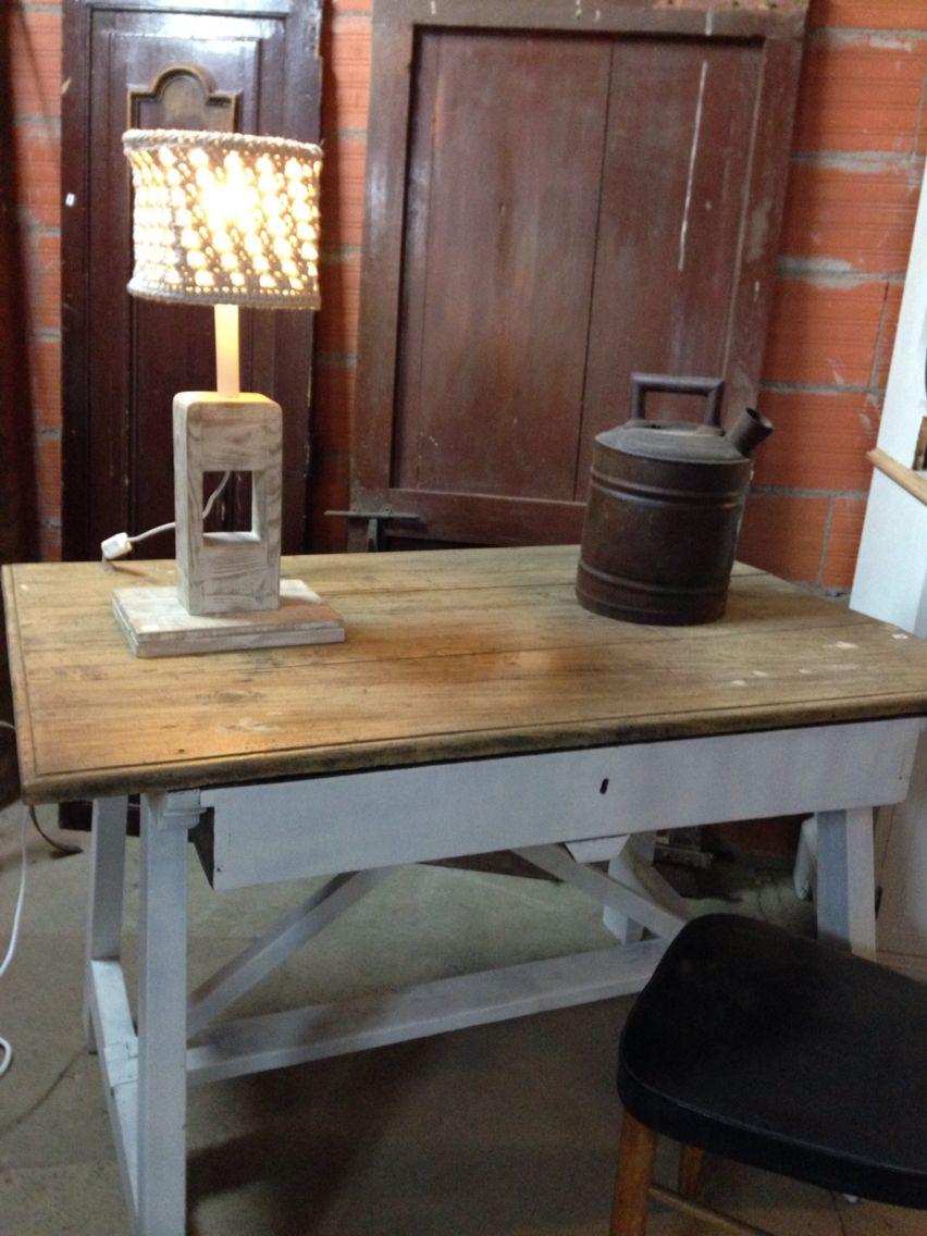 Mesa Tocinera Restaurada Por Malana S Workshop Nuestros Muebles  # Muebles Fuentes Carballo