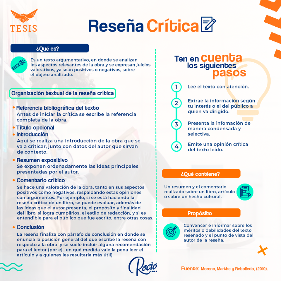 Reseña Crítica Texto Argumentativo Elaboracion De Tesis Tesis