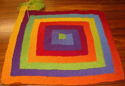 Ten Stitch Blanket Zehn Maschen Decke Decken Häkeln