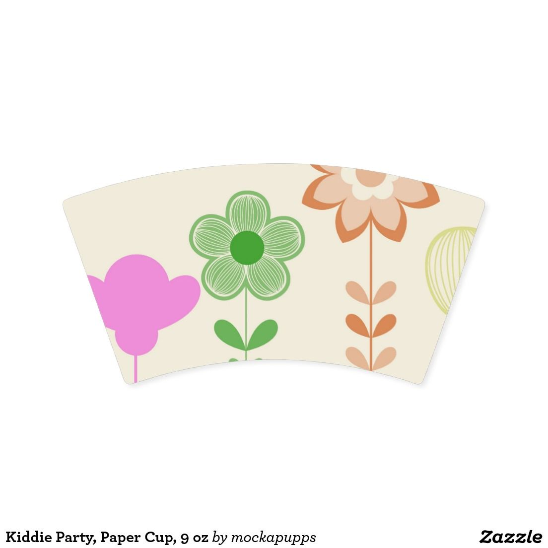 Kiddie Party, Paper Cup, 9 oz Paper Cup