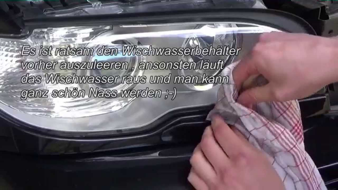 hight resolution of how to fit angel eyes on facelift e46 headlights