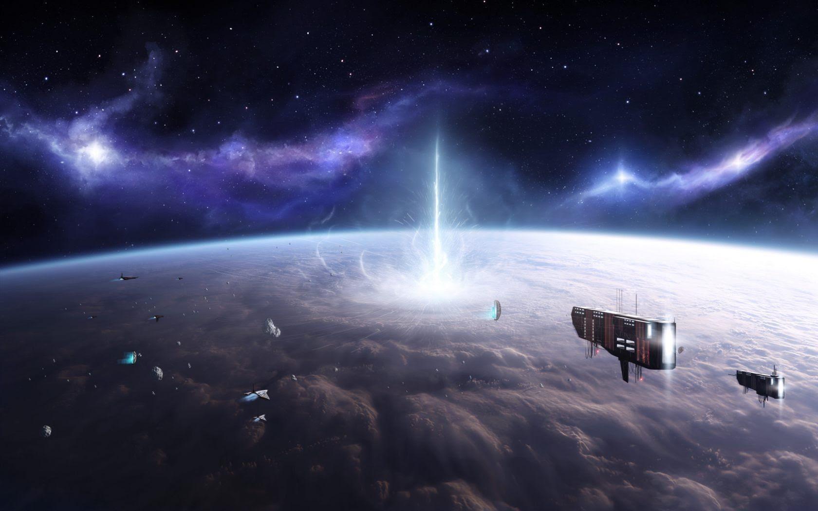 A chegada de ovnis gigantes em nosso sistema solar   ! Vai Haver uma mudança para o bem   !