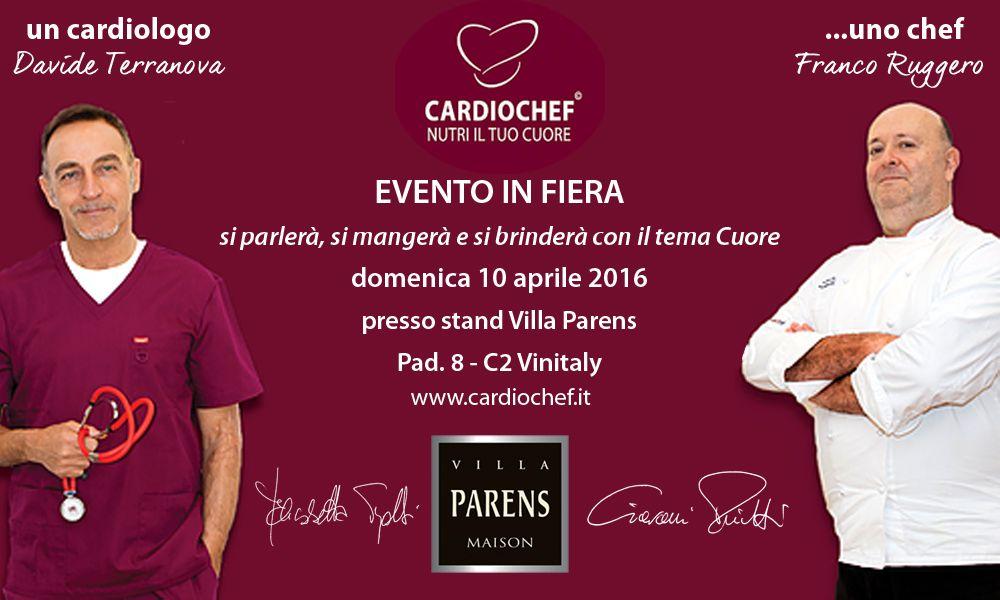 Join us! Una presenza che ci starà particolarmente a #cuore. Domenica 10 Aprile allo stand #VillaParens, PAD8,D2.  http://bit.ly/230Yd0L