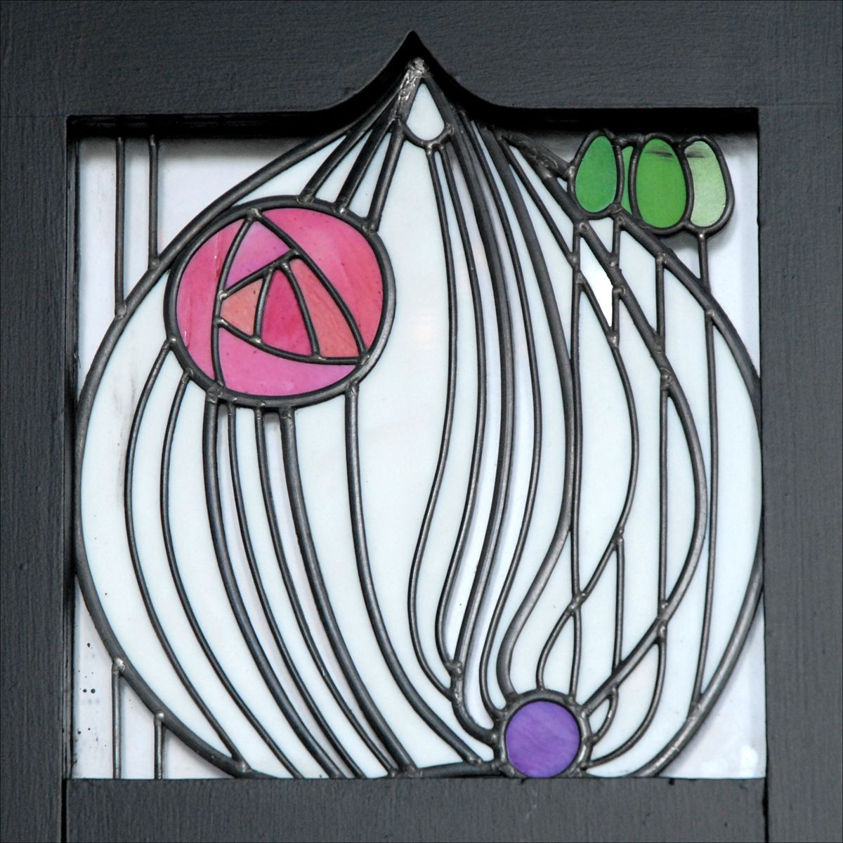 charles rennie mackintosh charles rennie mackintosh stained glass panels and glass. Black Bedroom Furniture Sets. Home Design Ideas