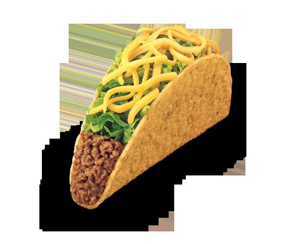 Crunchy Taco Food Nutrition Food List Fast Food Menu