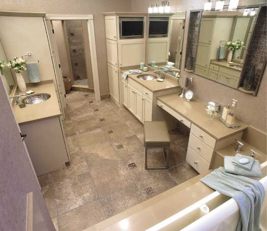 Bathroom Remodel In Sioux Falls, SD. Designed By Todayu0027s StarMark Custom  Cabinetry And Furniture