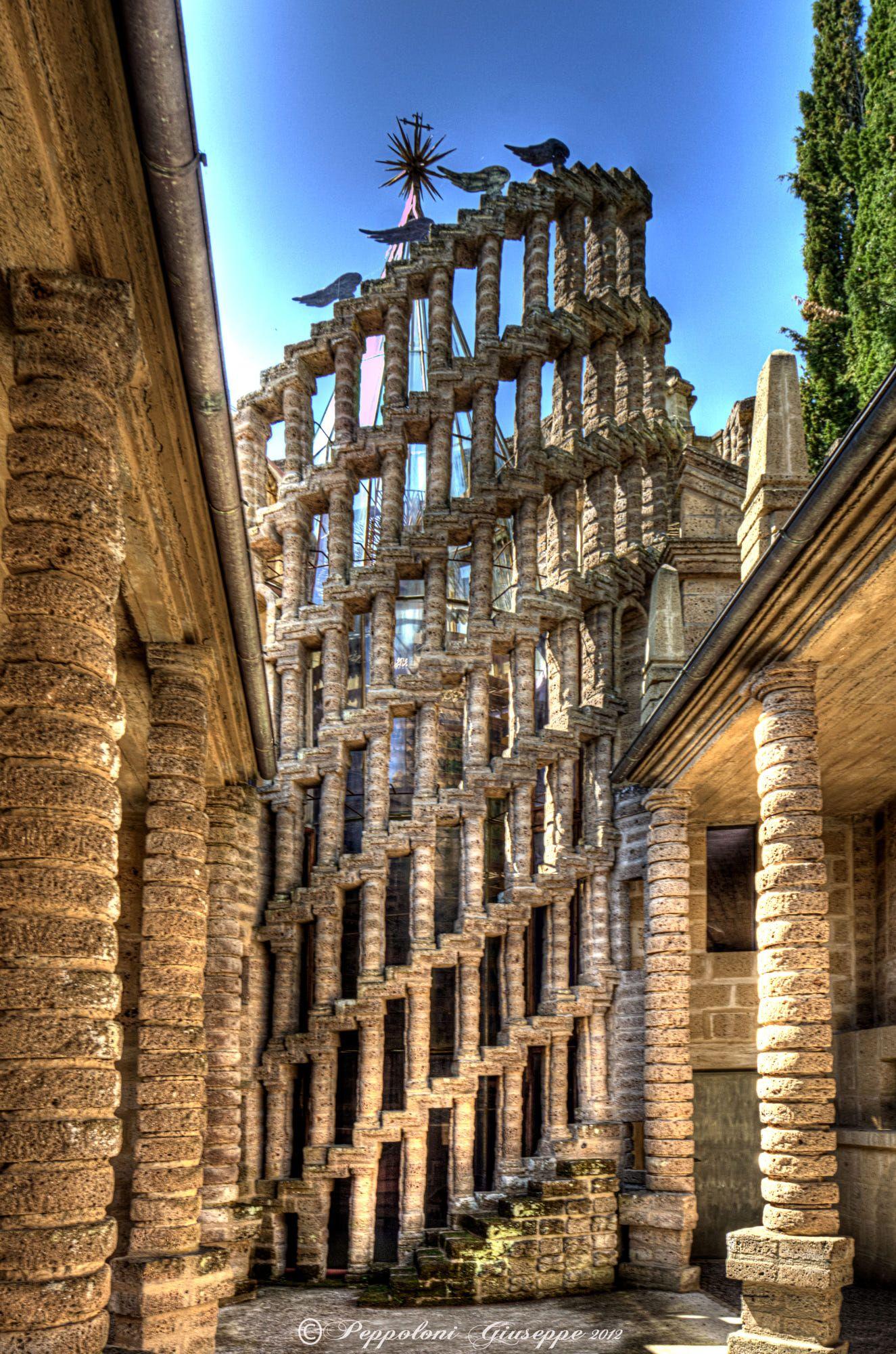 La Scarzuola, Terni, Umbria, Italy. The Ideal City by the ...