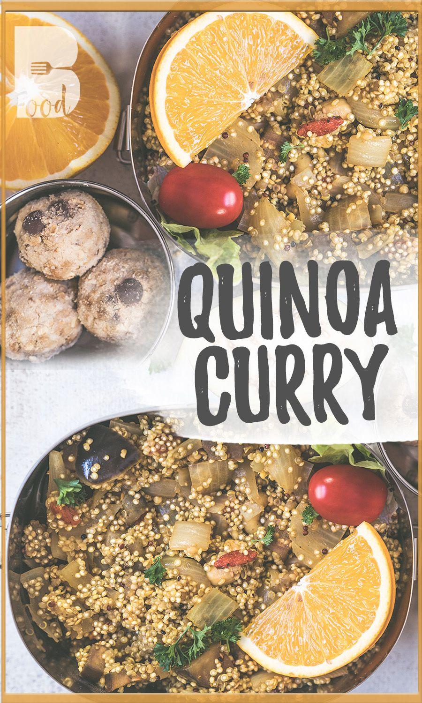 Quinoa Curry Bento Box Rezept Zum Mitnehmen Ein Weiteres Rezept