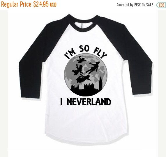 20% OFF Kids I'm So Fly I Neverland Shirt by TheCutestCottons