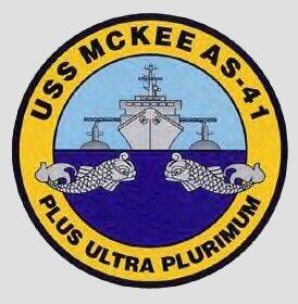 Uss Mckee As 41 Badge Navy Day Mckee Military History