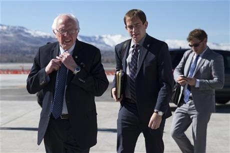 Clinton Sanders speak at Las Vegas church