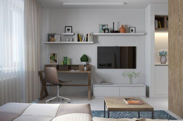 Merveilleux 2 Apartments Under 30 Square Feet U2013 One Light, One Dark
