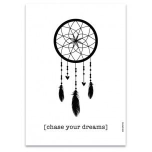 Affiche Chase your dreams - Esprit Nordik